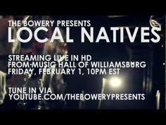 local natives perform you and i pitchfork weekly youtube