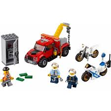 Lego – City – Police Tow Truck Trouble – 60137 - CWJoost Lego Technic 42070 6x6 All Terrain Tow Truck At John Lewis City Trouble 60137 Toys R Us Canada Pickup Set 60081 9390 Mini Matnito Lego Duplo Town Buy Online In South Africa Takealotcom Itructions 7638 Set 8462 Technic 2006 Release Au Flickr 1800 Hamleys For And Games 93951