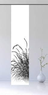 schiebevorhang blickdicht schiebegardine 260 cm top