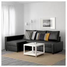 Leather Sofa Bed Ikea by Friheten Corner Sofa Bed With Storage Bomstad Black Ikea