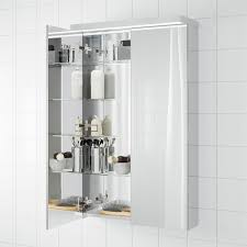 godmorgon spiegelschrank 2 türen 60x14x96 cm