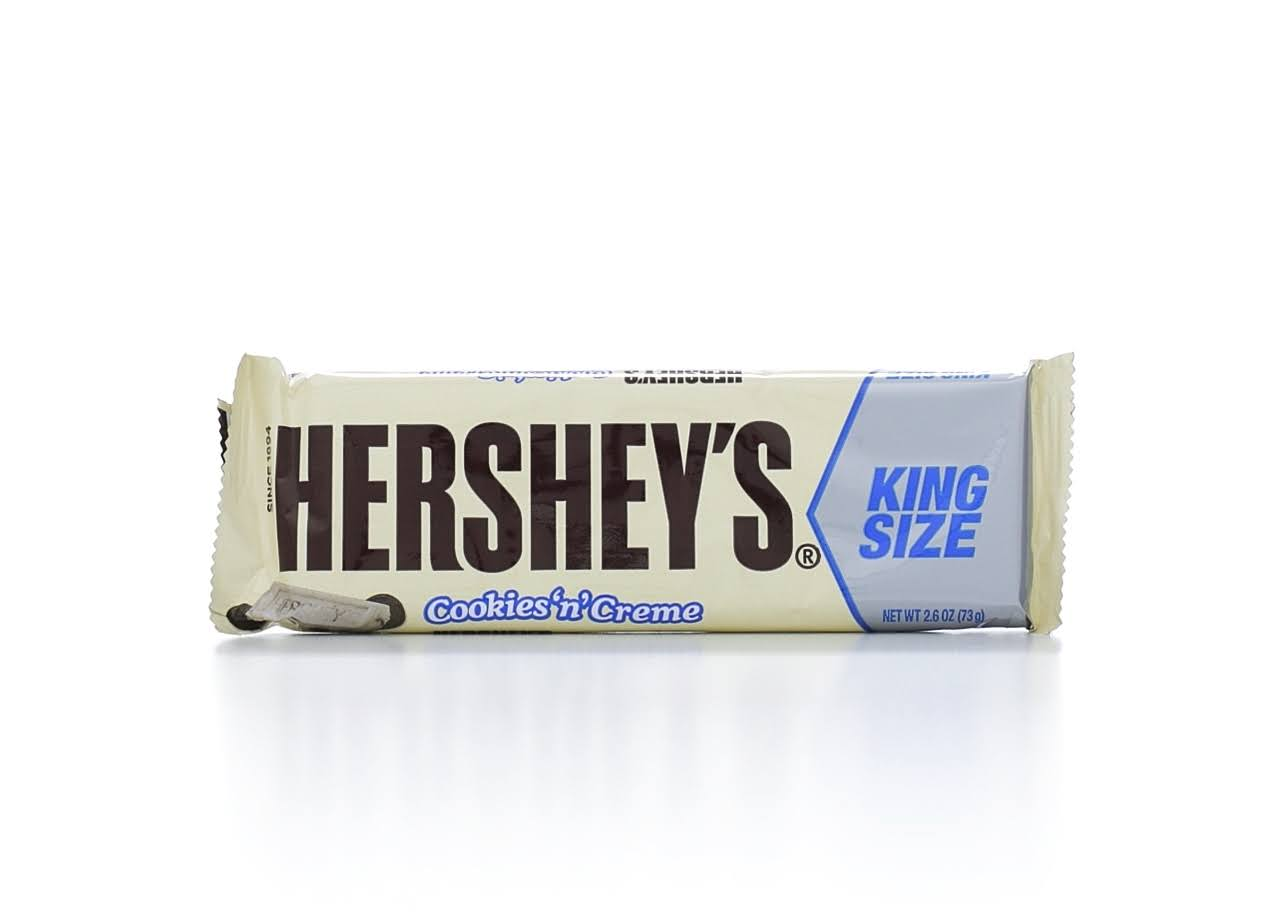 Hershey's King Size Bar - Cookies N Creme, 73g