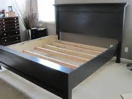 king bed frame plans diy king platform bed plans bed woodworking