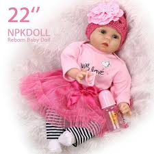 Detail Feedback Questions About 22inch 55cm Silicone Reborn Dolls