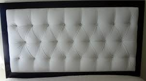 Diamond Tufted Headboard With Crystal Buttons by Diamond Tufted Headboard Diy Home Design Ideas