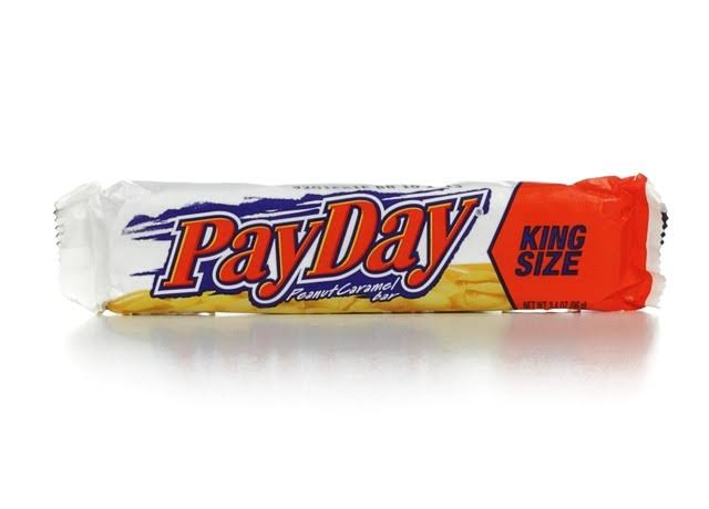 Payday Peanut Caramel Bar - King Size, 3.4oz