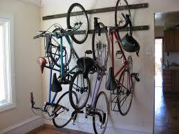 Ceiling Bike Rack For Garage by Bikes Vertical Bike Hook How To Build A Bike Rack Out Of Wood 3
