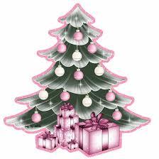 Pink Christmas Tree Gif