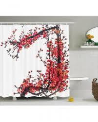 Japanese Cherry Blossom Bathroom Set by Purple Shower Curtain Japanese Cherry Blossom Print For Bathroom
