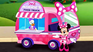 Flower Truck Game Food Minnie Mouse U Daisy Duck For Kids Vintage As A Pot Gardens