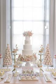 Enchanting Elegant Wedding Dessert Table 16 On Centerpieces For With