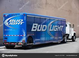 San Francisco Usa July 2011 Blue Bud Light Delivery Truck – Stock ... Bud Light Beer Truck Parked And Ready For Loading Next To The Involved In Tempe Crash Youtube Dimension Hackney Beverage Popville The Cheering Bud Light Was Loud Trailer Skin Ats Mods American Simulator Find A Gold Can Win Super Bowl Tickets Life Ball Park Presents Dads Rock June 18th Eagle Raceway Austin Johan Ejermark Flickr Lil Jon Prefers Orange Other Revelations From Bud Light 122 Gamesmodsnet Fs17 Cnc Fs15 Ets 2 Metal On Trailer Truck Simulator Intertional