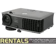 Dell 2400mp Lamp Light Flashing rent projector dell 2400mp 3 000 lumens dlp projector rental