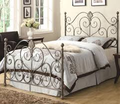 White Wrought Iron King Size Headboards by Metal King Size Headboard White Metal King Size Headboard White