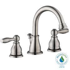 Glacier Bay Bathroom Faucets Instructions by Glacier Bay Mandouri 8 In Widespread 2 Handle High Arc Bathroom