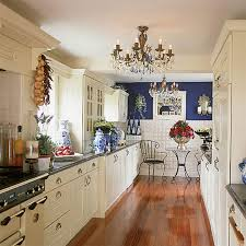 Image Of Blue And White Kitchen Decor