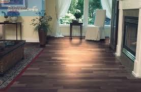 Dark Shaded Parquet Flooring