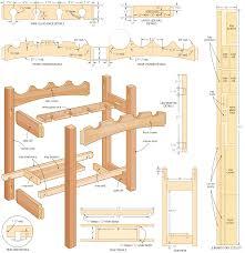 rack plans wood