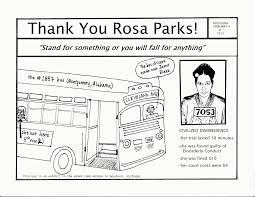 Httpazcoloringcoloring At Rosa Parks Coloring Page