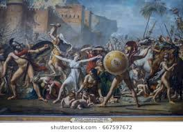 ParisFrance May 032017 The Sabine Women By Jacques Louis