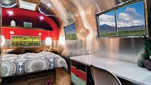 100 Airstream Trailer Restoration Vintage That Once Rode The Rails Sells For 200