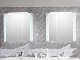 pelipal pcon spiegelschrank mit seitlicher led beleuchtung an den türen