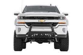 100 Push Bars For Trucks Rough Country Black Bull Bar For 0718 Chevrolet GMC Pickups And