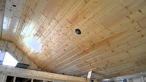 Armstrong Woodhaven Ceiling Planks by Bedroom T U0026g Ceiling Youtube