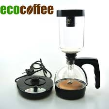 Free Shipping Electrical Coffee Maker Siphon 3cups Counted Syphon