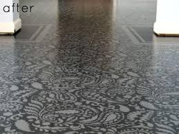 Paisley Faux Carpet 8 Fantastic DIY Painted Floor Ideas Diy Concrete Floors