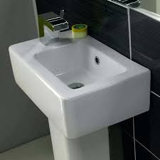 Pedestal Sinks For Small Bathrooms small bathroom pedestal sink storage u2013 bathroom ideas