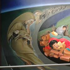 Denver International Airport Murals Painted Over by Creepy Murals In The Denver Airport Is There Fire Behind The