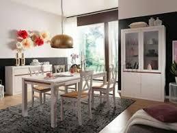 massivholz eßzimmer set komplett 7teilig kiefer massiv weiß