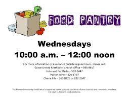 Food Pantry Hours