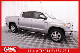 Certified Pre-Owned 2017 Toyota Tundra 4WD Crew Cab 1794 Edition 4x4 ... Toyota Hilux 9697 De Lajeadors Truck Ideas Pinterest For Sale 1985 4x4 Pickup Solid Axle Efi 22re 4wd Filetoyota 3140373008jpg Wikimedia Commons Used 2013 Toyota Ta A Trd Sport 44 For Of Tacoma New 2018 Tundra Crewmax Platinum In Wichita Ks 1982 Sr5 Short Bed Monster Lifted Custom 2016 V6 Limited Review Car And Driver Classics On Autotrader 1986 Cab Trucks Trd 40598 Httpswwwfacebookcomaxletwisters4x4photosa Nice Price Or Crack Pipe 25kmile 4wd 6000