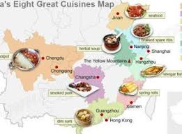 cuisines of china s regional cuisines food types south