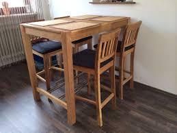 esszimmer bartisch mit 4 stühlen