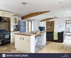 eine geräumige offene ferienhaus bnb die küche
