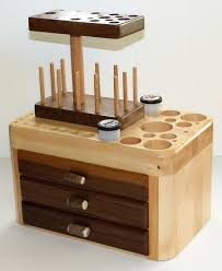 Fly Tying Table Woodworking Plans by Fly Tying Tool Caddy Standard Series Model 3dls W 3 Drawers
