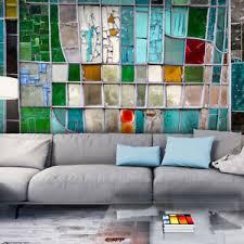 details zu vlies fototapete 3d mosaik keramik glas bunt tapete wandbilder wohnzimmer 83