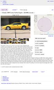 At $23,500, Is This 1989 Lotus Esprit Turbo 'The One' To Buy? Craigslist Cars And Trucks Mn Best Image Truck Kusaboshicom Hanford Ca Top Car Release 2019 20 Cheap On Washington Dc New Updates Yuma Used And Chevy Silverado Under 4000 Omaha By Dealer Tokeklabouyorg Bmw M4 News Of Reviews F250 Utility Service For Sale Imgenes De Owner Gmc Sierra 1500 2014 Near You Carmax Enterprise Sales Certified Suvs For Atlanta