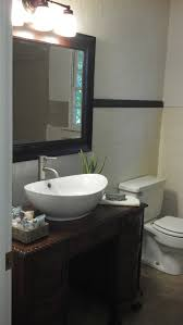 do you plan to build small bathroom vanities with vessel sinks