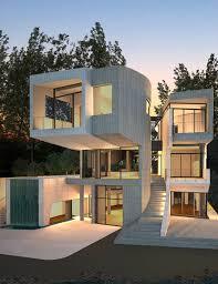 100 Griffin Enright Architects Luxe Lake Villas Archello