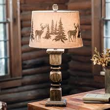 Rustic Lamps Cabin Lighting