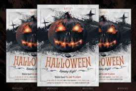 Free Halloween Flyer Templates by Halloween Spooky Night Party Flyer By Serenasorrenti Graphicriver