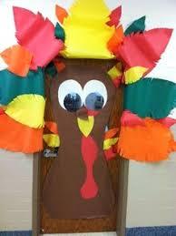 turkey door decoration for thanksgiving doors pinterest