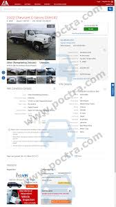 100 Adesa Truck Auction 1GBJ6H1C92J502551 2002 Chevrolet CSeries C6H042 Poctracom
