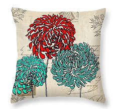 Red Decorative Pillows by Throw Pillows Using Yellow And Gray Teal Turquoise Red And Gray