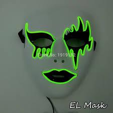 Halloween Club Purge Mask by Online Buy Wholesale Led Dj Face Mask From China Led Dj Face Mask