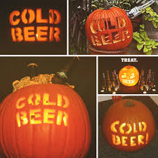 Puking Pumpkin Pattern by 6 Halloween Pumpkin Carving Inspirations For Beer Geeks
